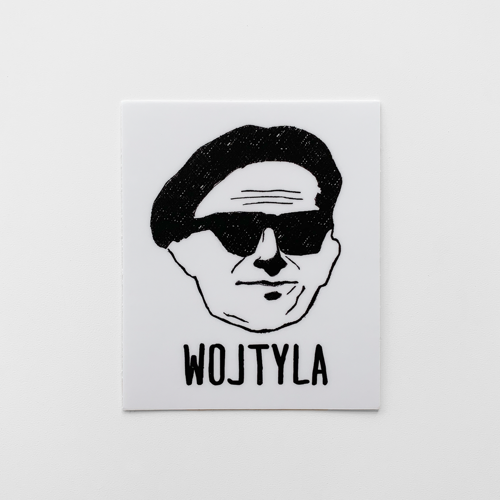 Wojtyla Christian Catholic Vinyl Sticker | PAL Campaign