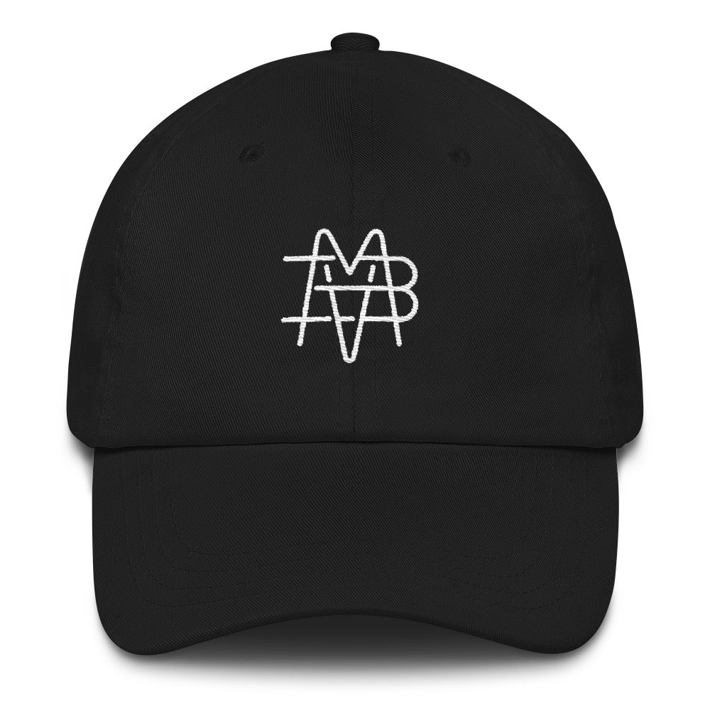 BVM Monogram Dad Hat (Black) | PAL Campaign