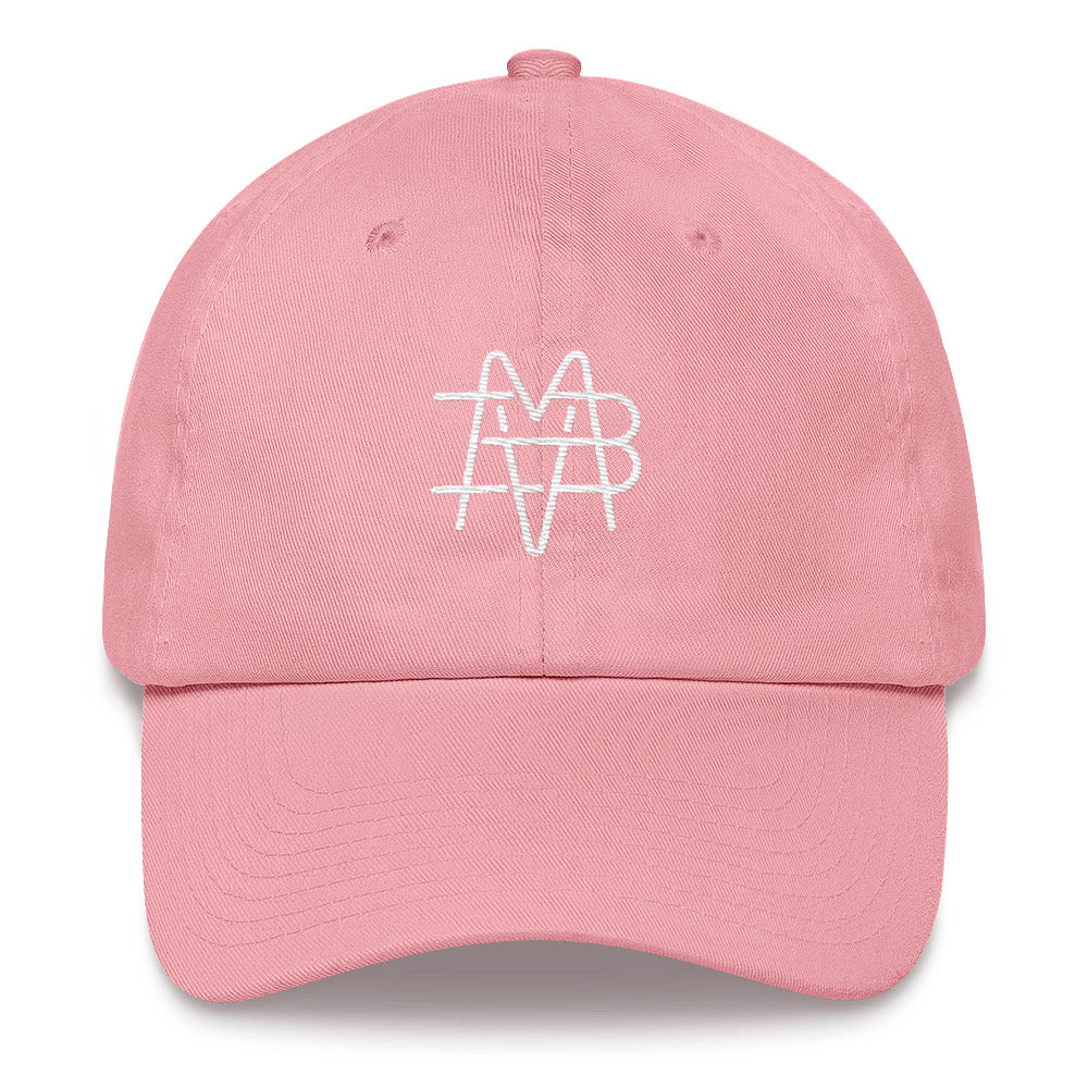 BVM Monogram Dad Hat (Pink) | PAL Campaign