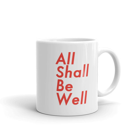 All Shall Be Well Christian Catholic Mug | PAL Campaign