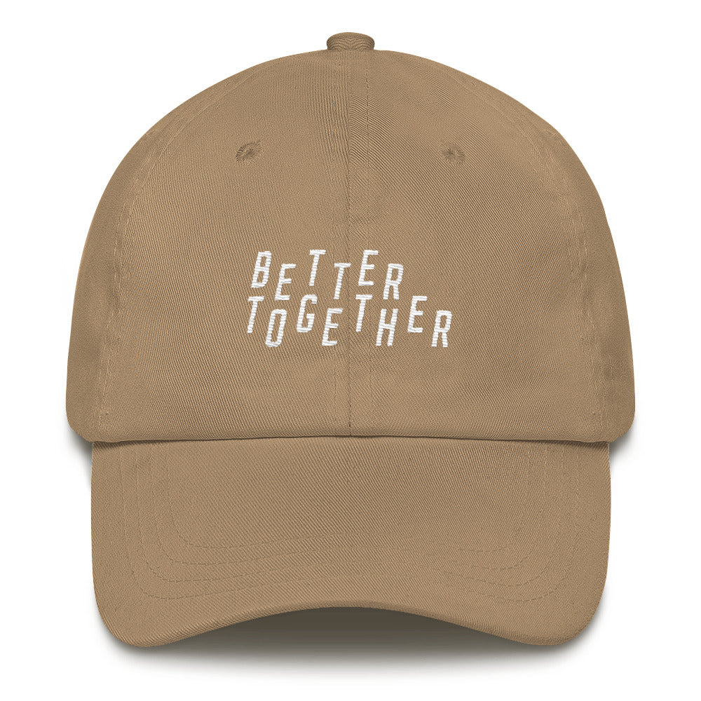 Better Together Christian Catholic Dad Hat in Stone | PAL Campaign