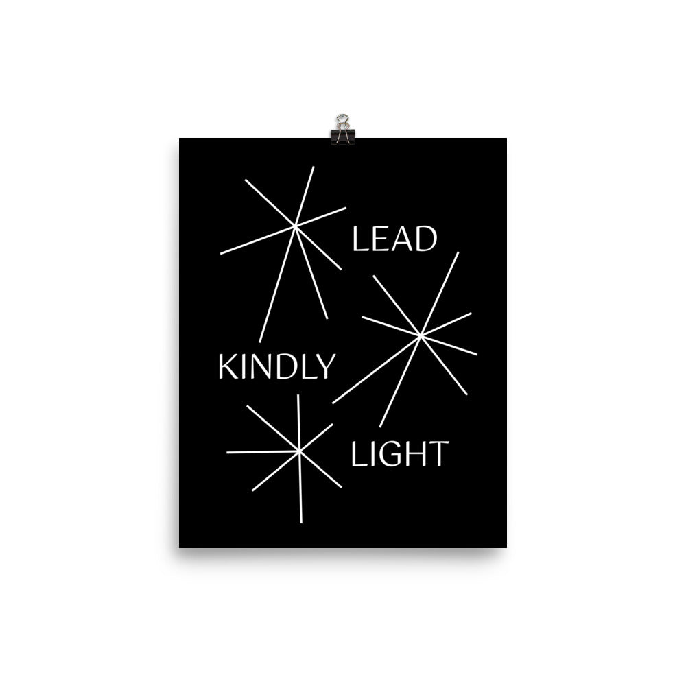 Lead Kindly Light | Sparks (Print)