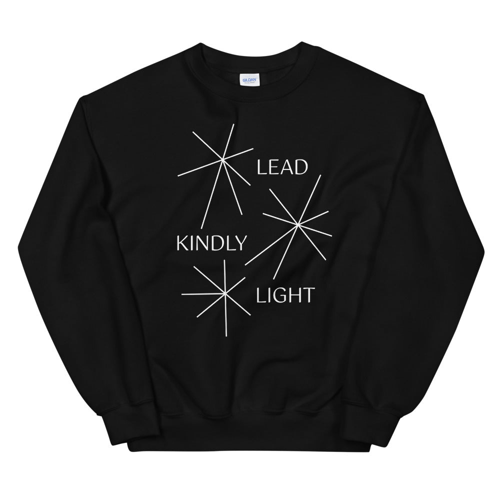 Lead Kindly Light Christian Catholic Crewneck Sweatshirt | PAL Campaign