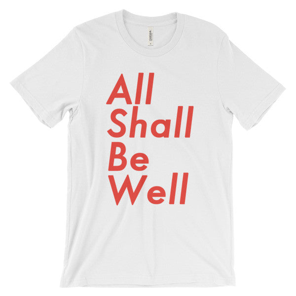 All Shall Be Well Christian Catholic T-Shirt | PAL Campaign