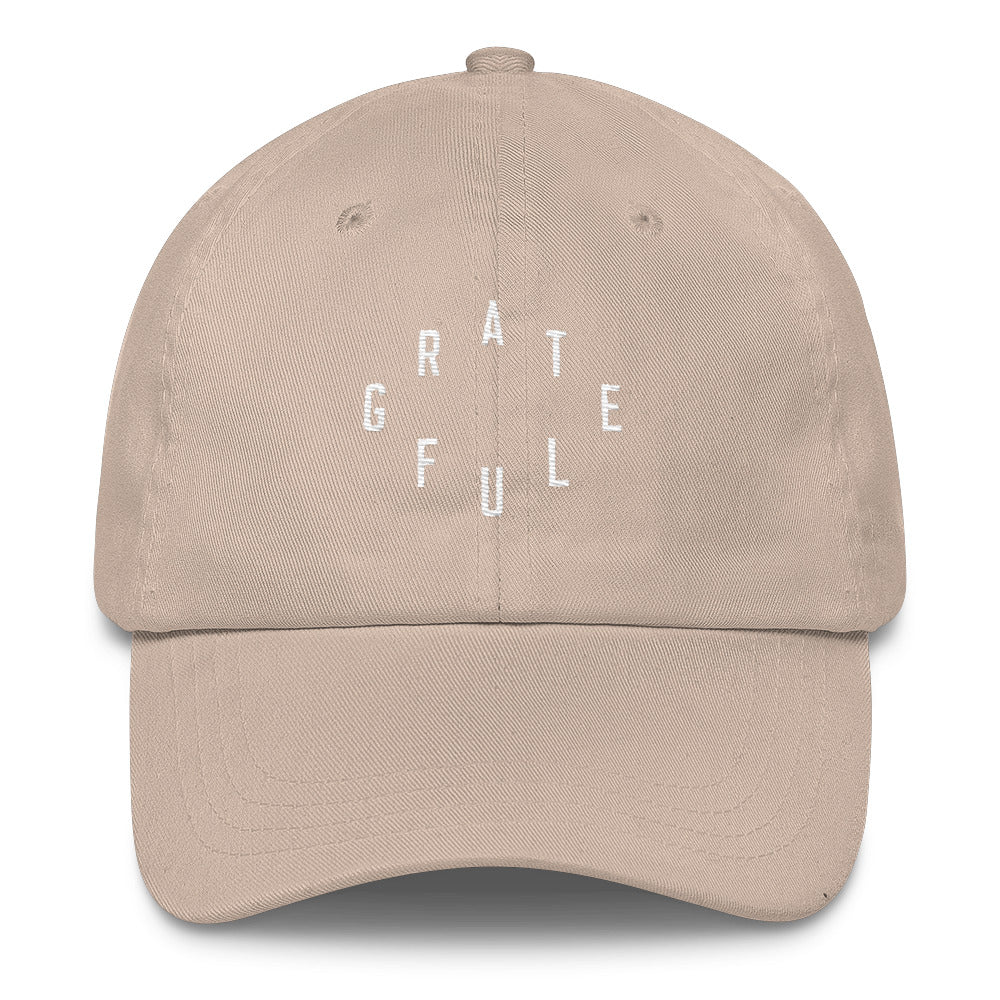 Grateful Christian Catholic Dad Hat in Stone | PAL Campaign
