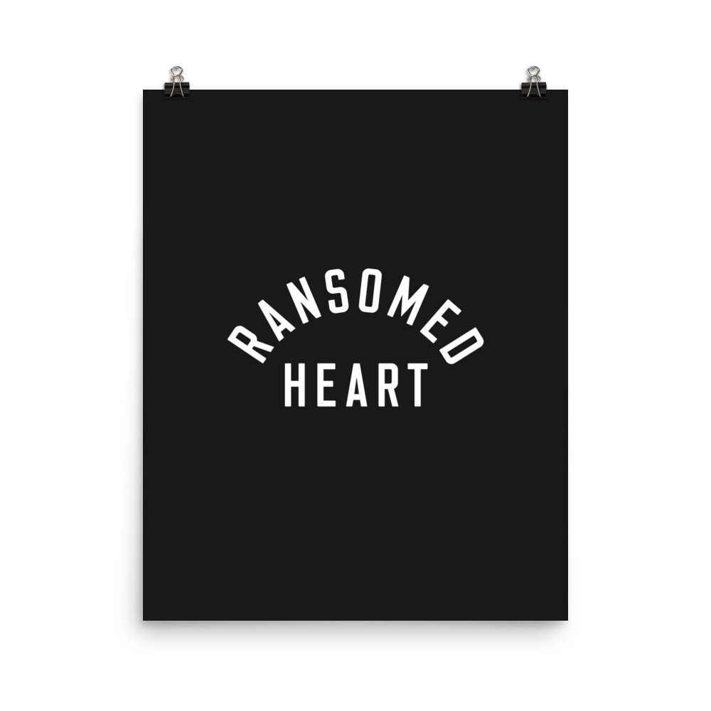 Ransomed Heart Christian Catholic Poster Print | PAL Campaign