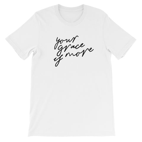 Grace Is More Christian Catholic T-Shirt | PAL Campaign