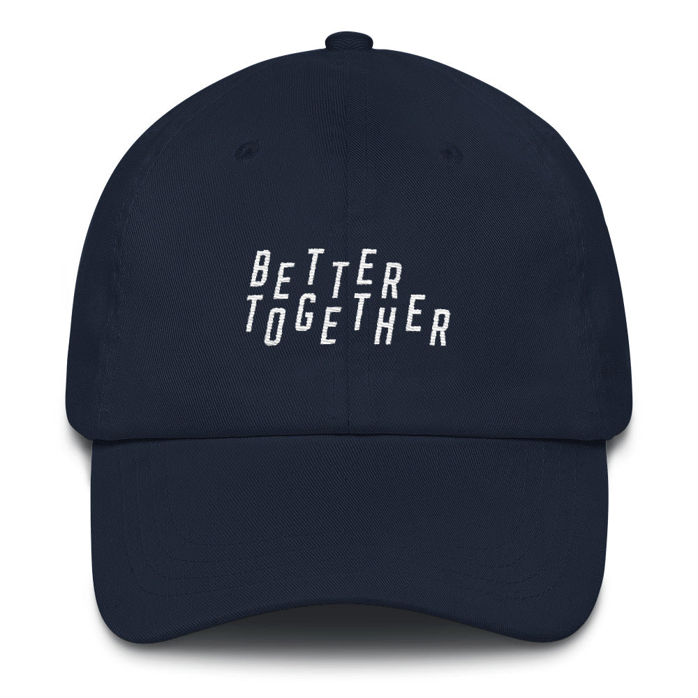 Better Together Christian Catholic Dad Hat in Navy | PAL Campaign