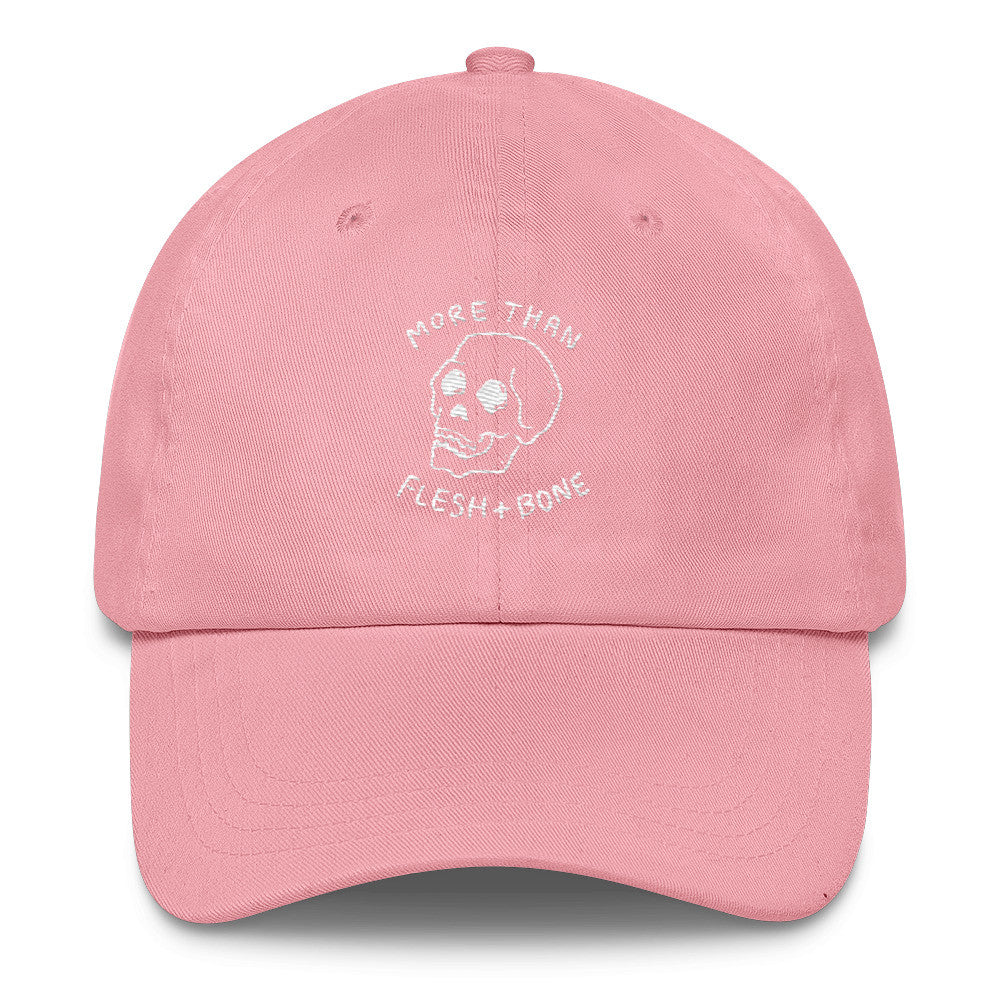 Flesh and Bone (Pink) Christian Catholic Dad Cap | PAL Campaign
