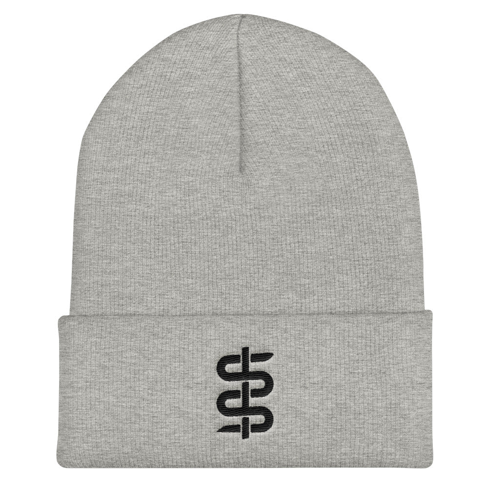 Bronze Serpent Christian Catholic Knit Beanie | PAL Campaign