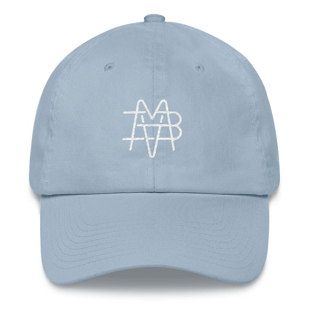BVM Monogram Dad Hat (Light Blue) | PAL Campaign