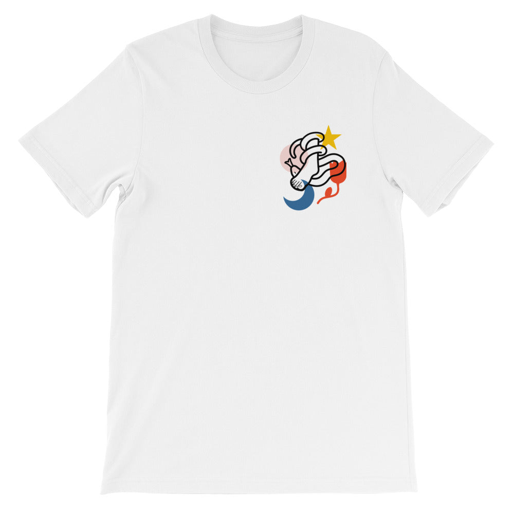 Crush Christian Catholic T-Shirt in White | PAL Campaign