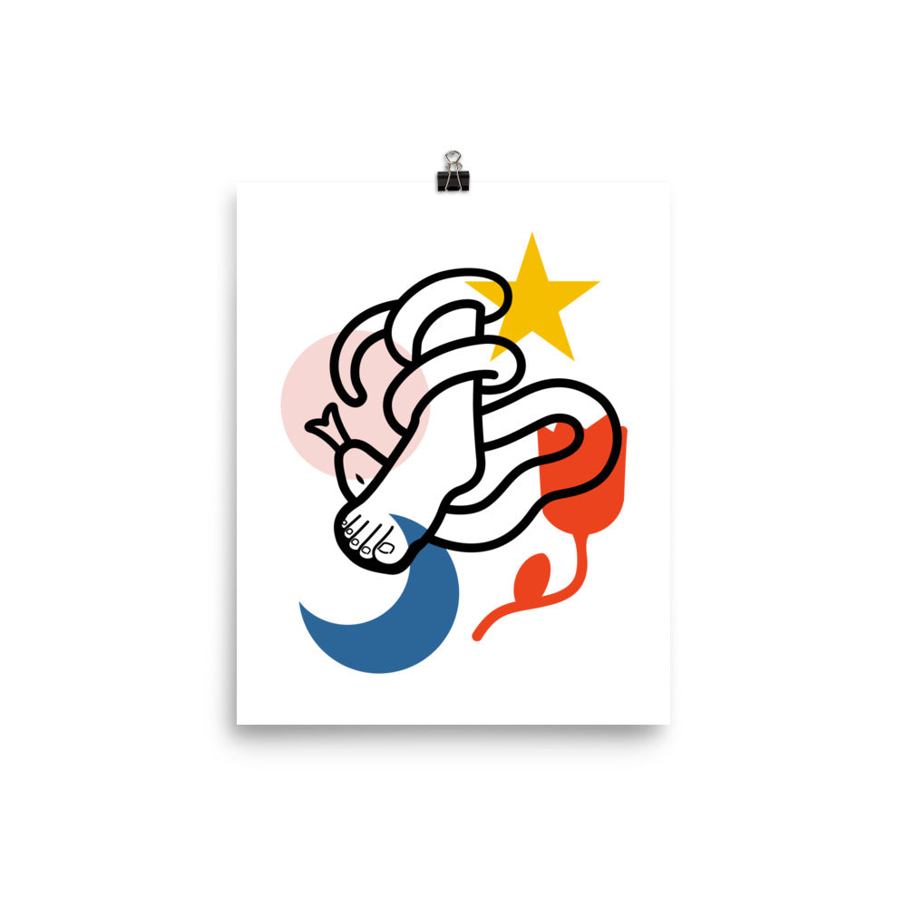"Crush Christian Catholic Poster Print in 8""x10"" 