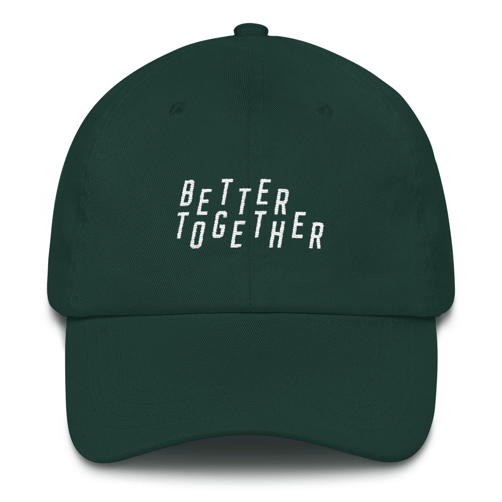 Better Together Christian Catholic Dad Hat in Spruce Green | PAL Campaign