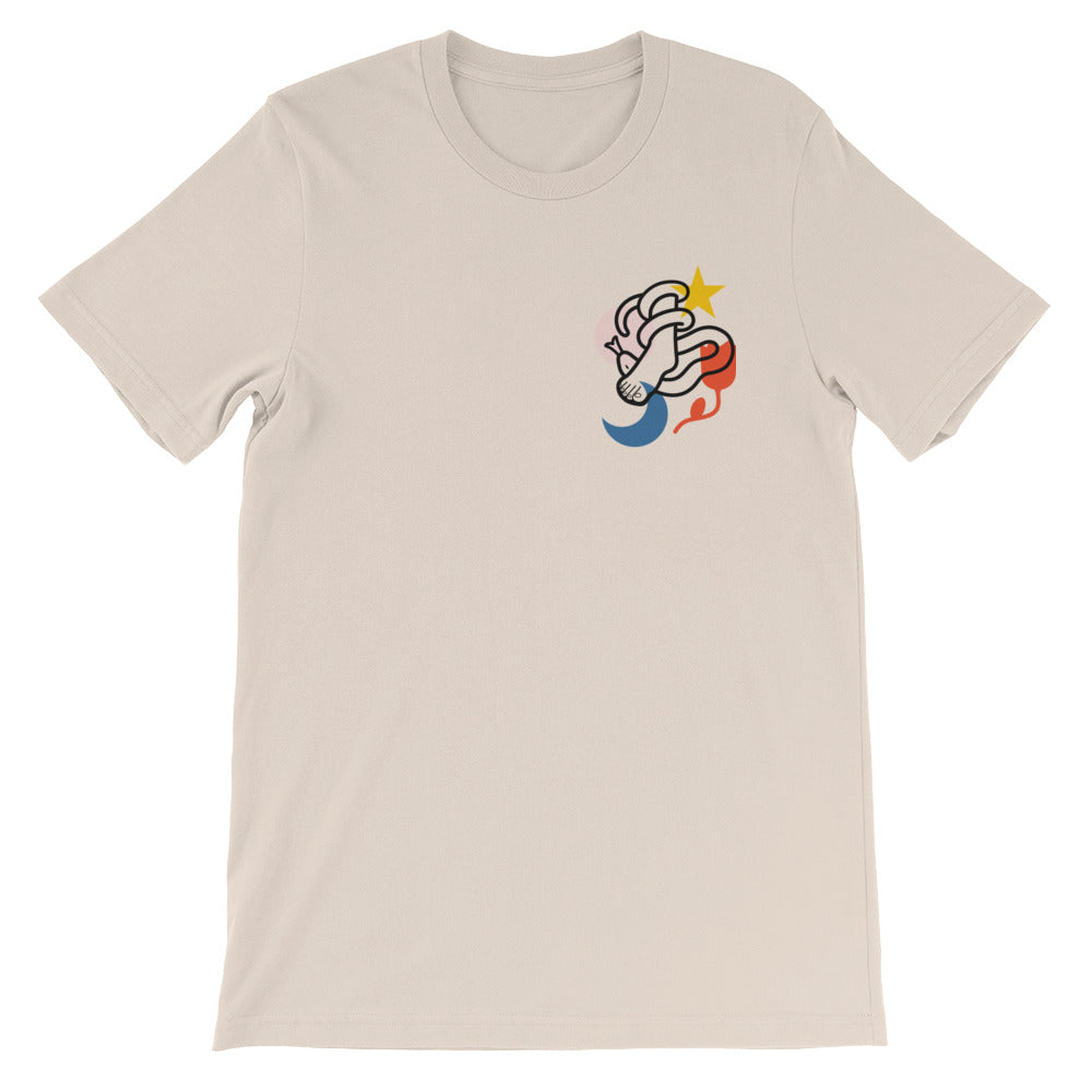 Crush Christian Catholic T-Shirt in Soft Cream | PAL Campaign