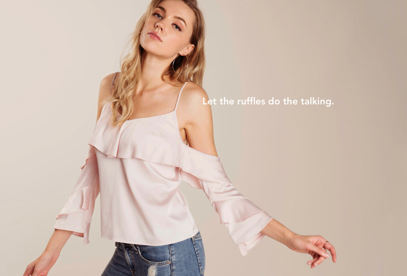 let the ruffles do the talking Souley Clothing