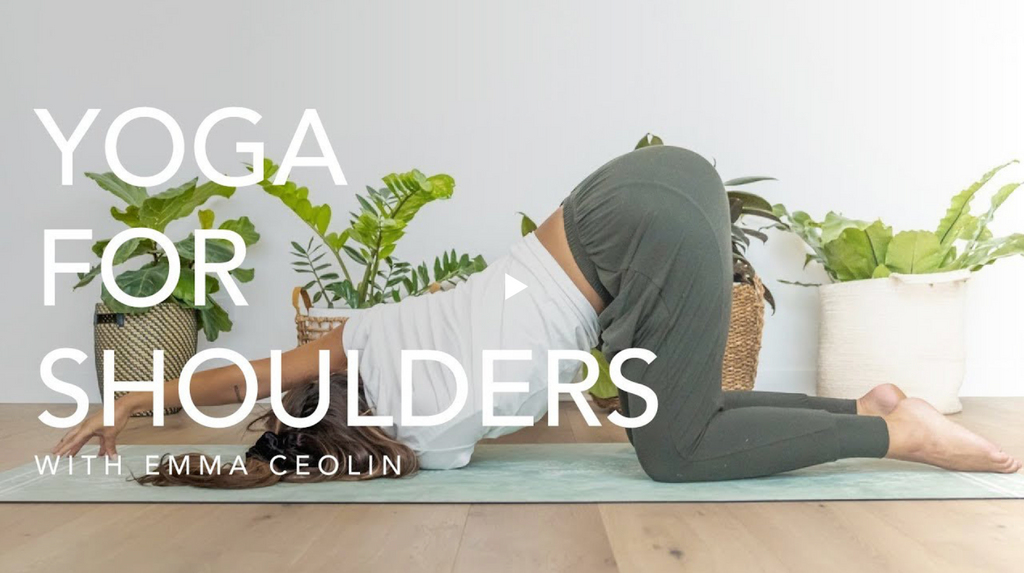 Free Online Yoga Class ~ Yoga for Shoulders with Emma Ceolin