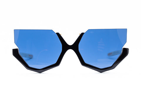 Flipage LE - Black w/ Blue Cat Eye