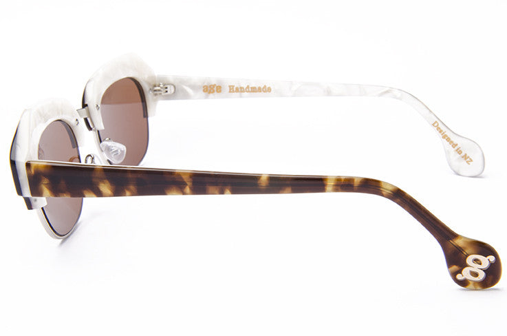 Leverage - Brown Pearl  Tort Optic