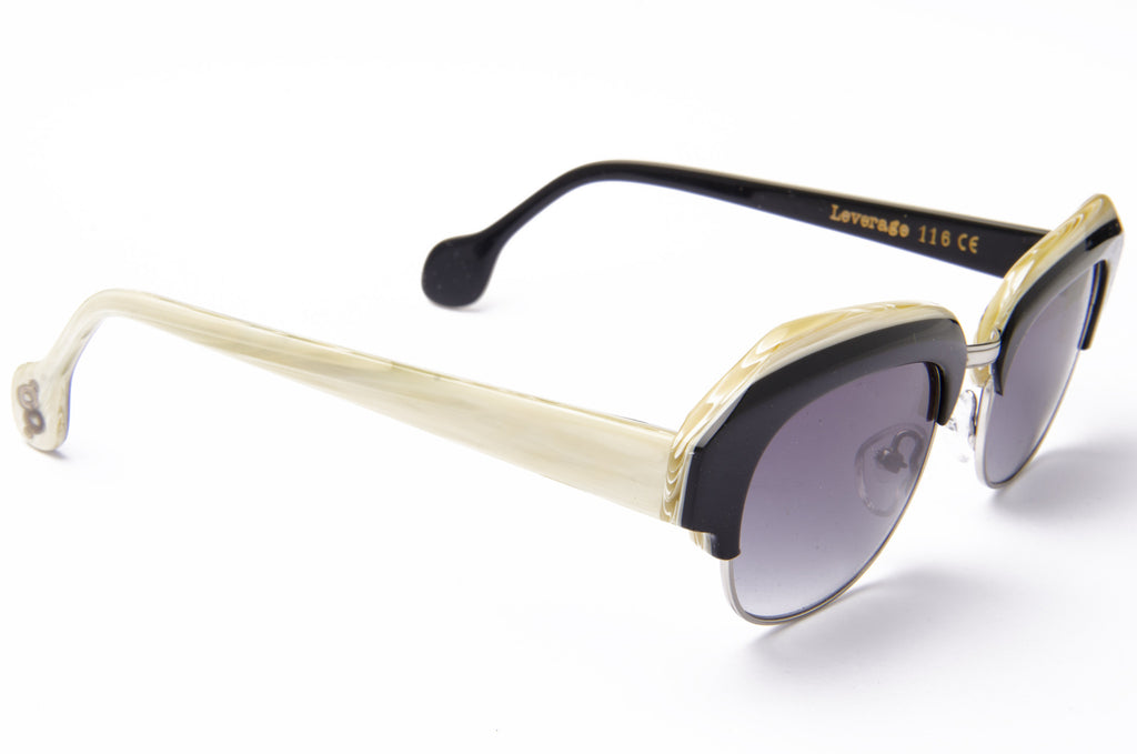 Leverage - Black/ Bone Limited Edition - AgeEyewear