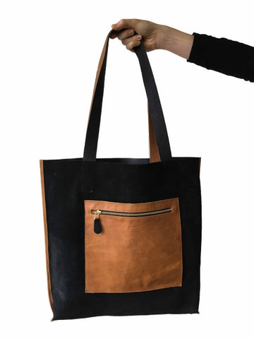 Stowage - Black w Brown