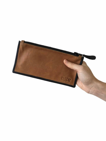 Wallet -  Brown w Black