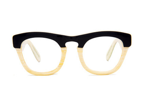 Yager - Black / Bone Limited Edition Optic - AgeEyewear