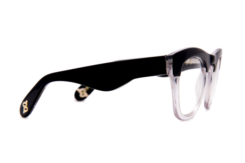 Yager - Black Crystal Optic - AgeEyewear