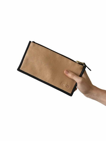 Wallet -  Nude w Black