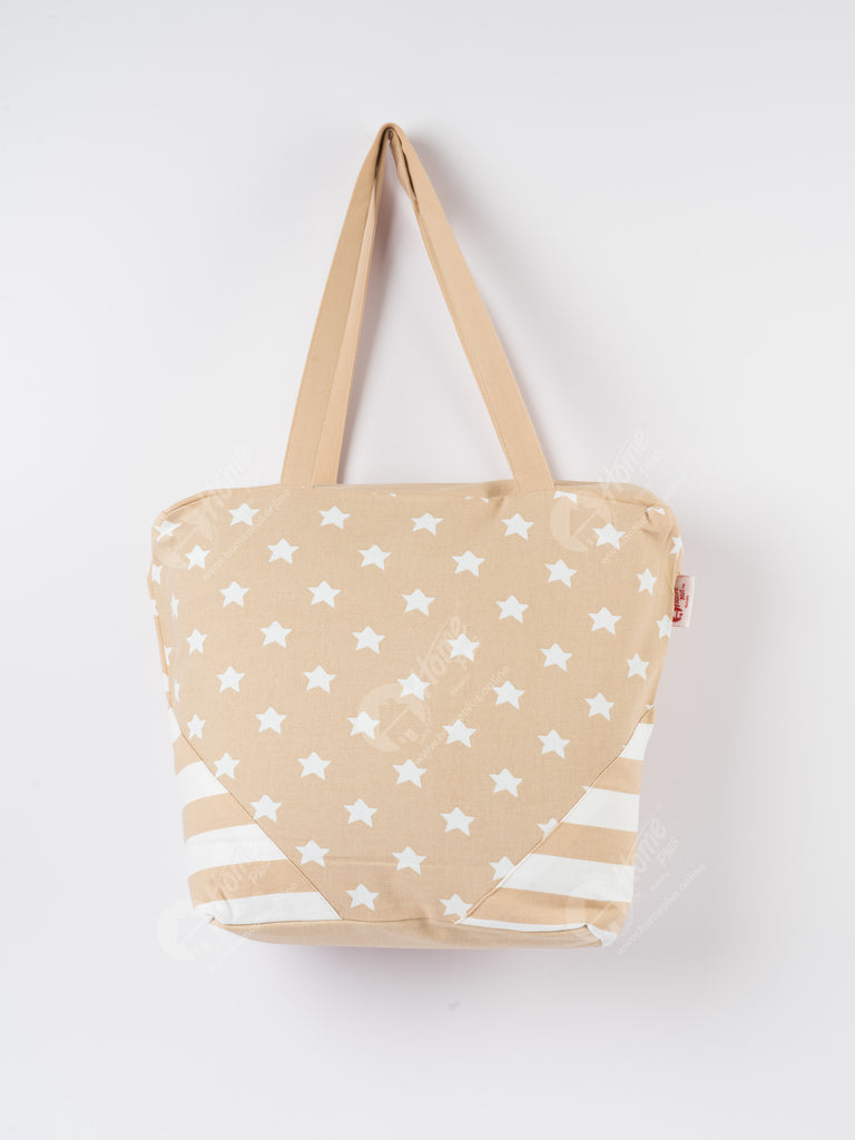 Shopping Bag - Star Beige