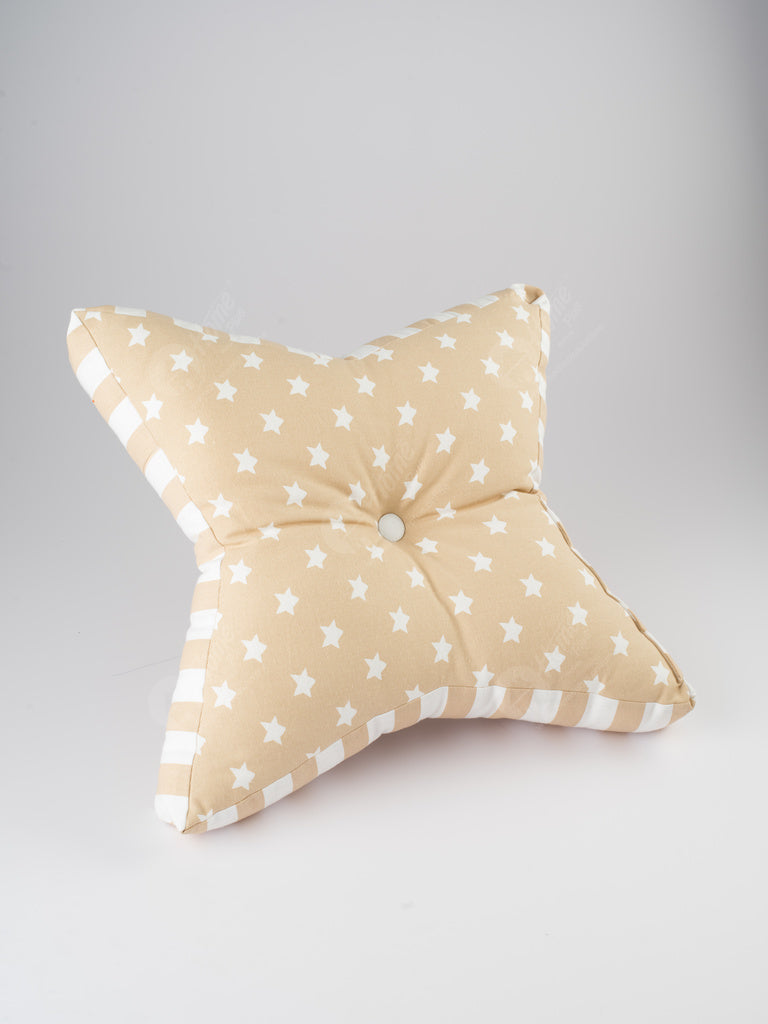 Floor Cushion S- Star Beige