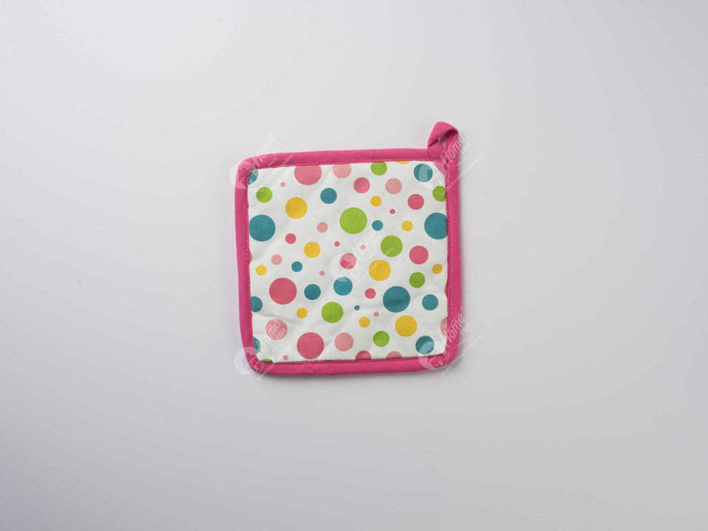 Pot Holder - Multi Polka