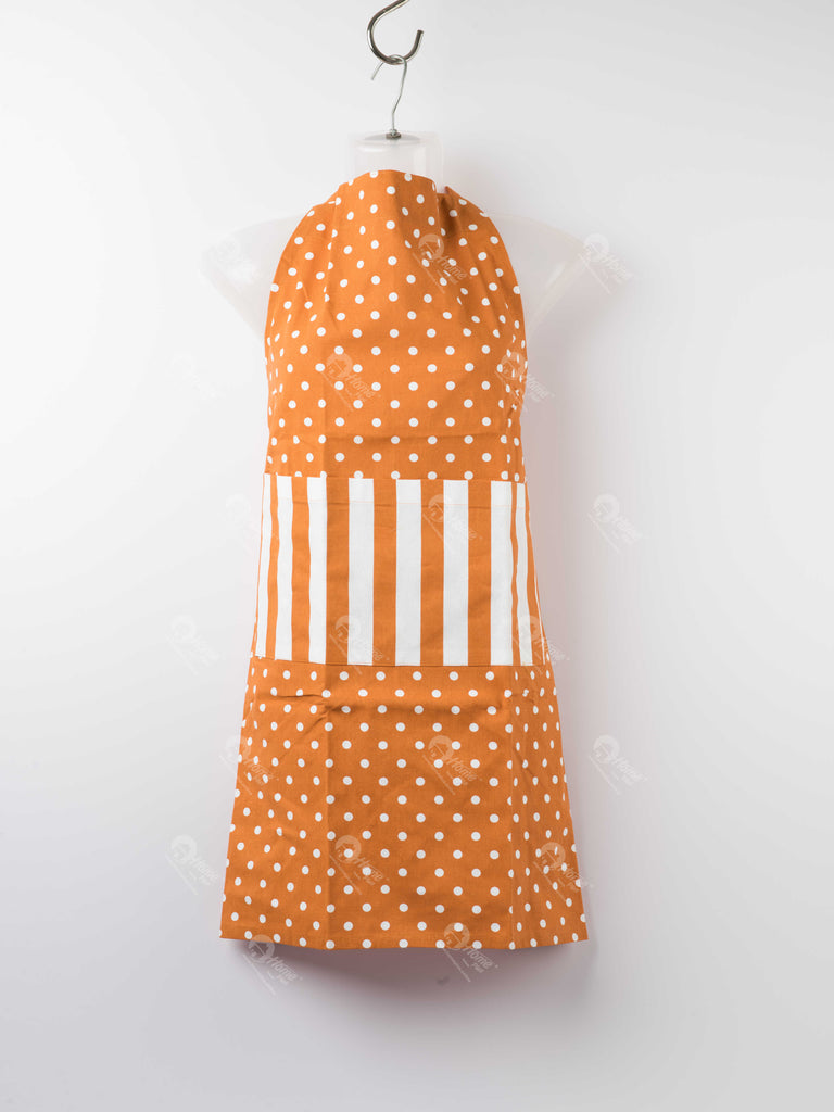 Apron - Polka Dot Burnt Orange