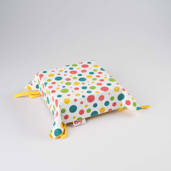 Bread Basket - Multi Polka