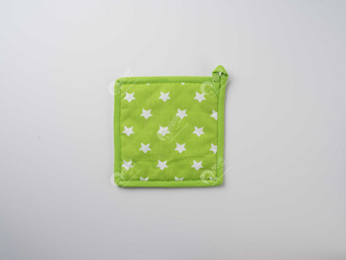 Pot Holder - Star Green