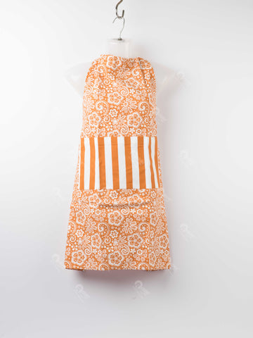 Apron - Lace Burnt Orange