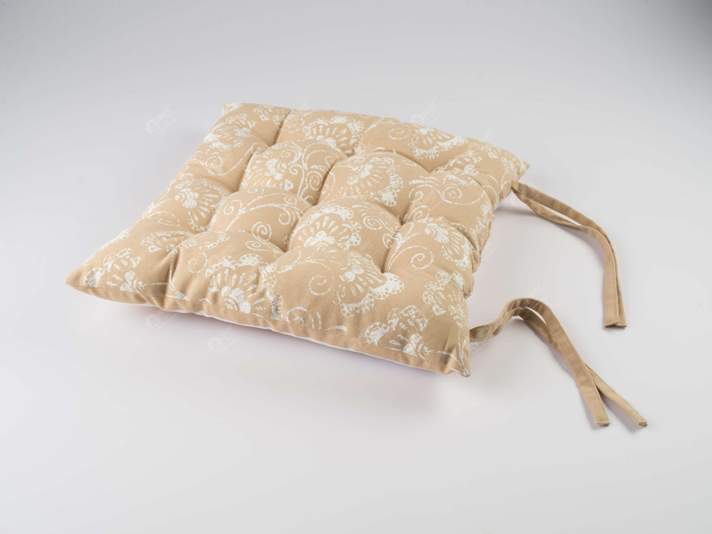 Chair Pad - Star Beige