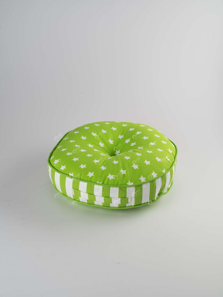 Floor Cushion R - Star Green