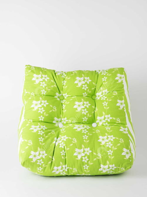 Back Rest Cushion - Wind Flower Green