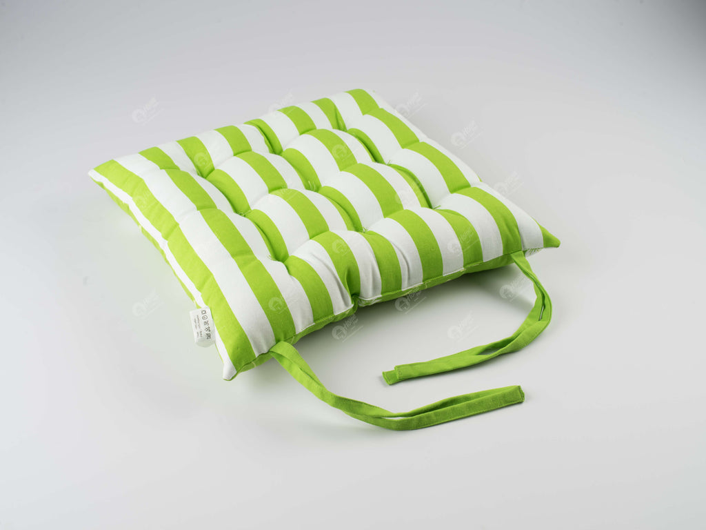 Chair Pad - Wind Flower Green