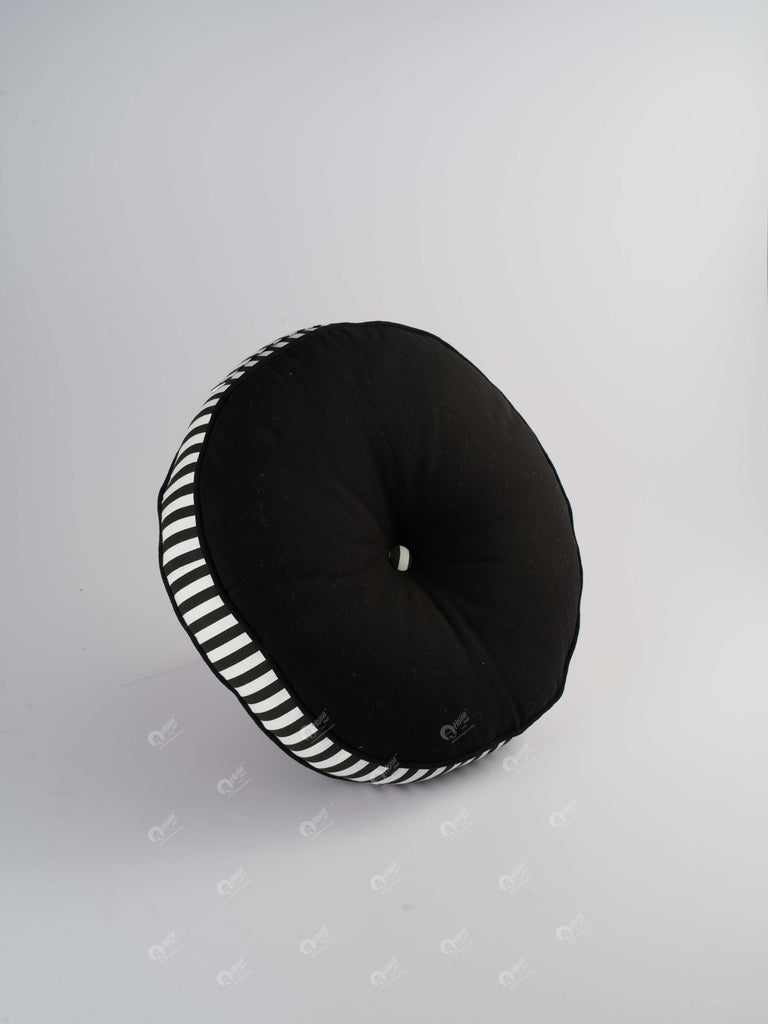 Floor Cushion R - Solid Black