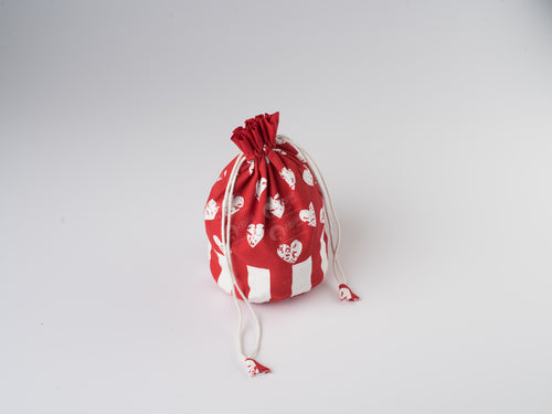 Gift Bag - Heart Pro Red
