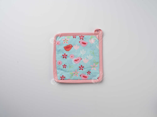Pot Holder - Birds & Flowers