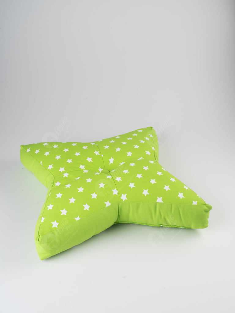 Floor Cushion S - Star Green