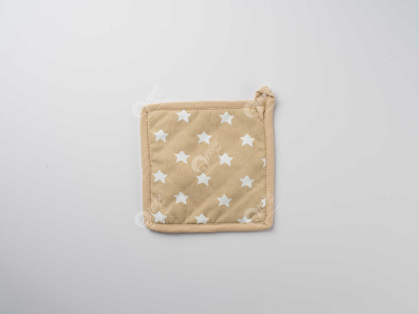 Pot Holder - Star Beige