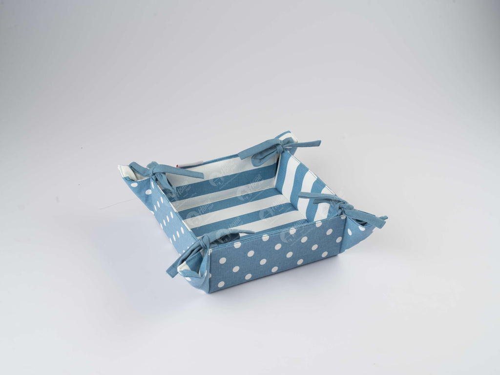 Bread Basket - Polka Dot AF Blue