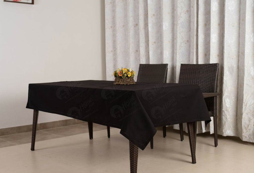 Table Cloth - Solid Black