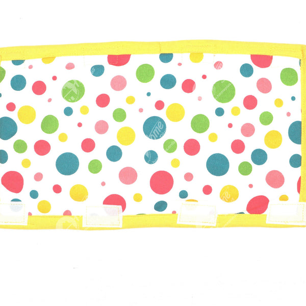 Fridge Handle - Multi Polka