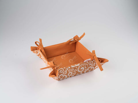 Bread Basket - Lace Burnt Orange
