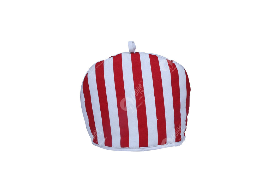 Tea Cozy - Thick Stripes Red